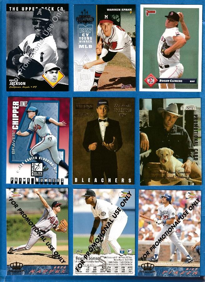 Promo / Prototype / Sample cards Baseball Cards Set