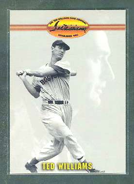 Ted Williams - 1993 Ted Williams Co. PROMO #1 (Red Sox) Baseball cards value