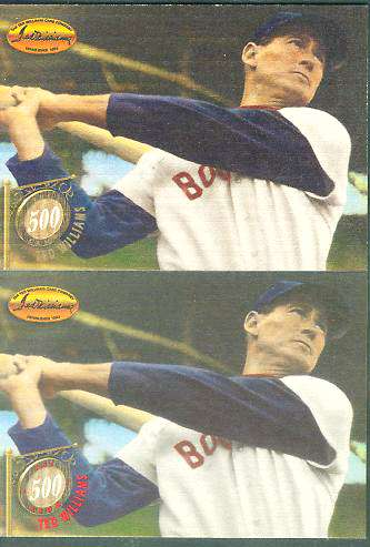 #8 Ted Williams - 1994 Ted Williams Co 500 CLUB RED FOIL (Red Sox) Baseball cards value