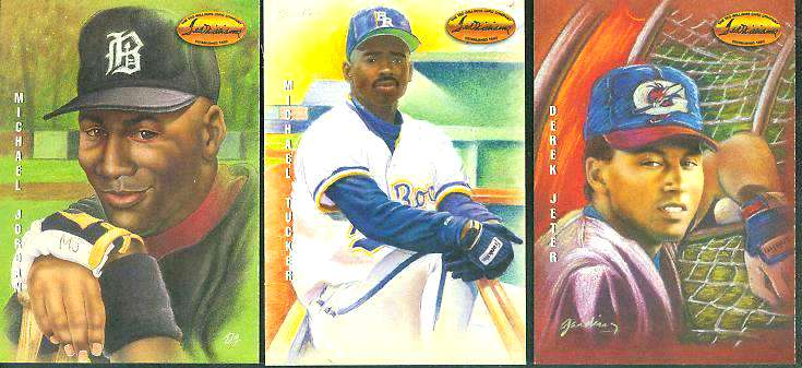 #DG1 Michael Jordan - 1994 Ted Williams Co. 'Gardiner Collection' Baseball cards value