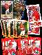Todd Zeile - Lot of (33) ROOKIE cards (Cardinals)