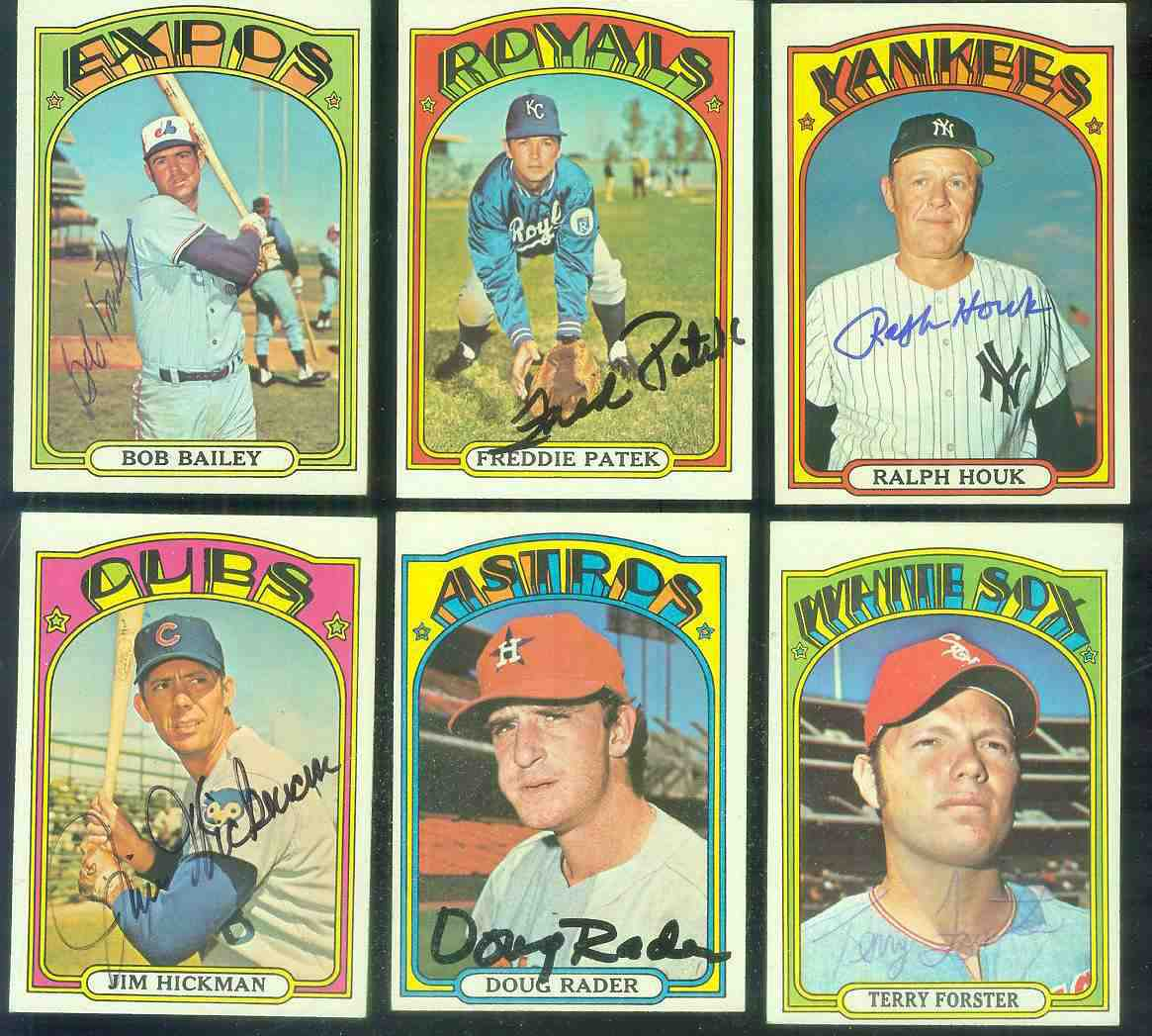 AUTOGRAPHED: 1972 Topps #539 Terry Forster ROOKIE PSA/DNA LOA (White Sox) Baseball cards value