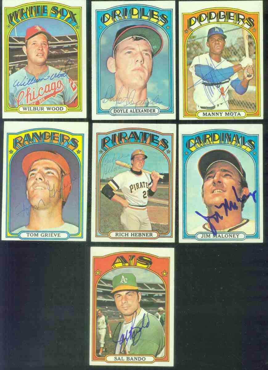 AUTOGRAPHED: 1972 Topps #645 Jim Maloney w/PSA/DNA Auction LOA (Cardinals) Baseball cards value