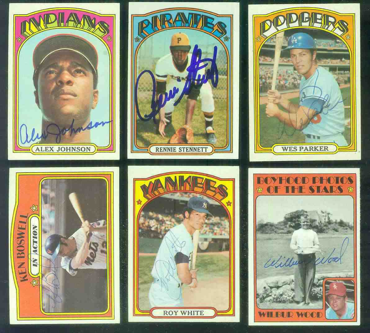 AUTOGRAPHED: 1972 Topps #342 Wilbur Wood 'Kid-Pix' PSA/DNA LOA (White Sox) Baseball cards value