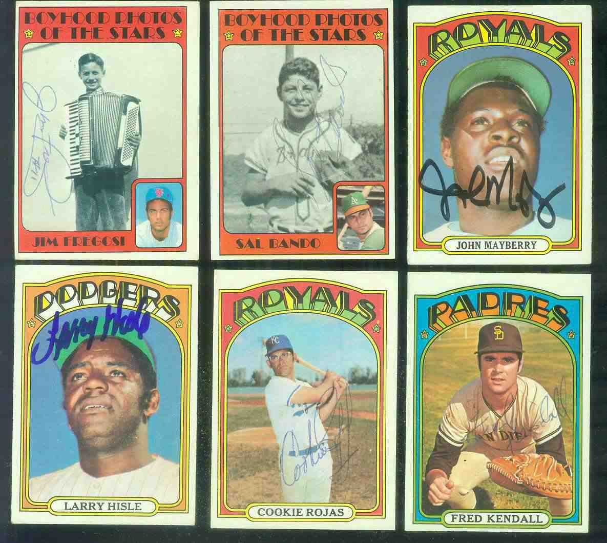 AUTOGRAPHED: 1972 Topps #398 Larry Hisle w/PSA/DNA Auction LOA (Dodgers) Baseball cards value