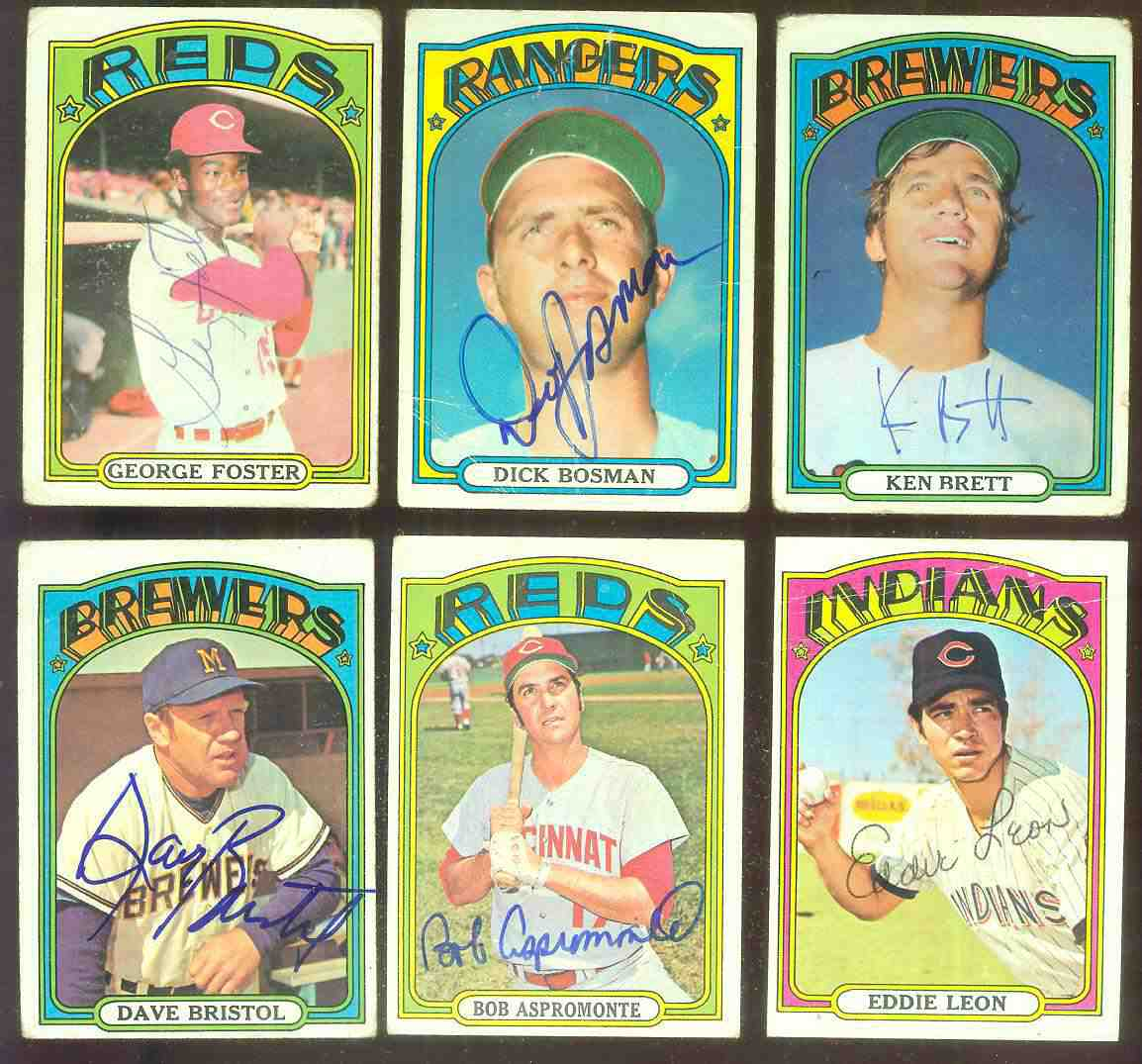 AUTOGRAPHED: 1972 Topps #659 Bob Aspromonte SCARCE HIGH #.PSA/DNA LOA (Reds Baseball cards value