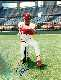 REDS LOT: Barry Larkin - Autographed 8x10 (Reds)