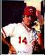 REDS LOT: Pete Rose - Ron Lewis 8x10 (phone) Signed by Ron Lewis (Reds)