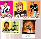 Cleveland BROWNS - Team Lot of (5) AUTOGRAPHED cards (1969-2000)