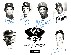 L.A. Dodgers - Multi-Signed 1983 25th Anniv. B&W Photo (8-1/2x11)