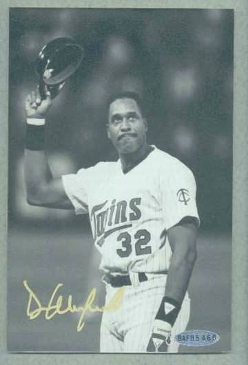 Dave Winfield - UDA Autographed 3,000 Hit Club photo (Padres) Baseball cards value