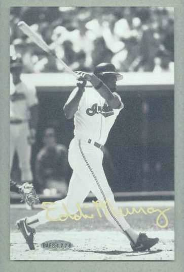 Eddie Murray - UDA Autographed 3,000 Hit Club photo (Orioles) Baseball cards value
