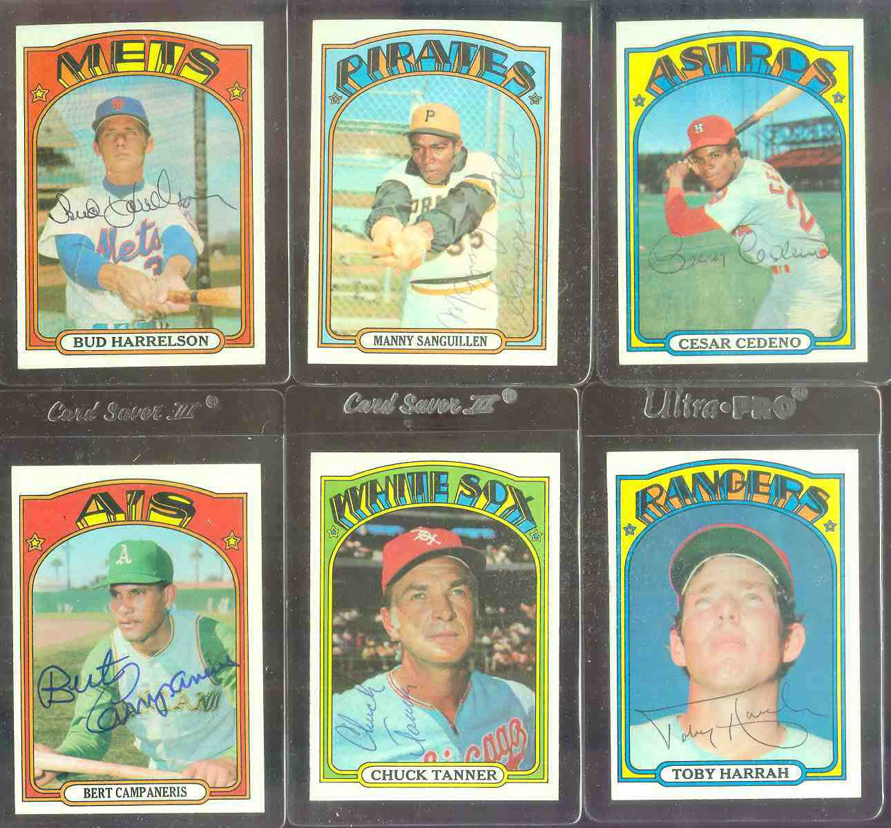 AUTOGRAPHED: 1972 Topps #104 Toby Harrah ROOKIE w/PSA/DNA LOA (Rangers) Baseball cards value
