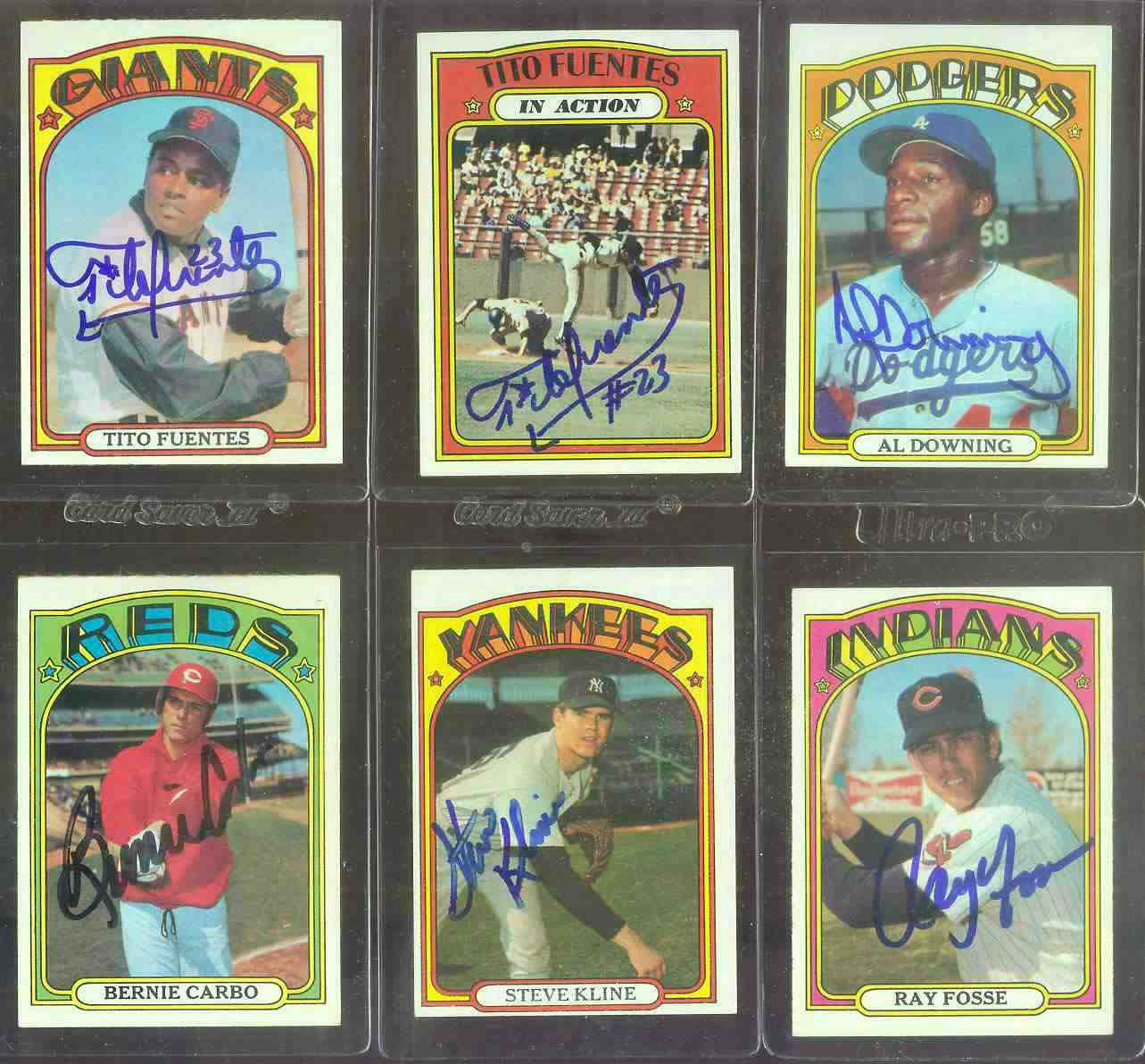 AUTOGRAPHED: 1972 Topps #470 Ray Fosse w/PSA/DNA Auction LOA (Indians) Baseball cards value