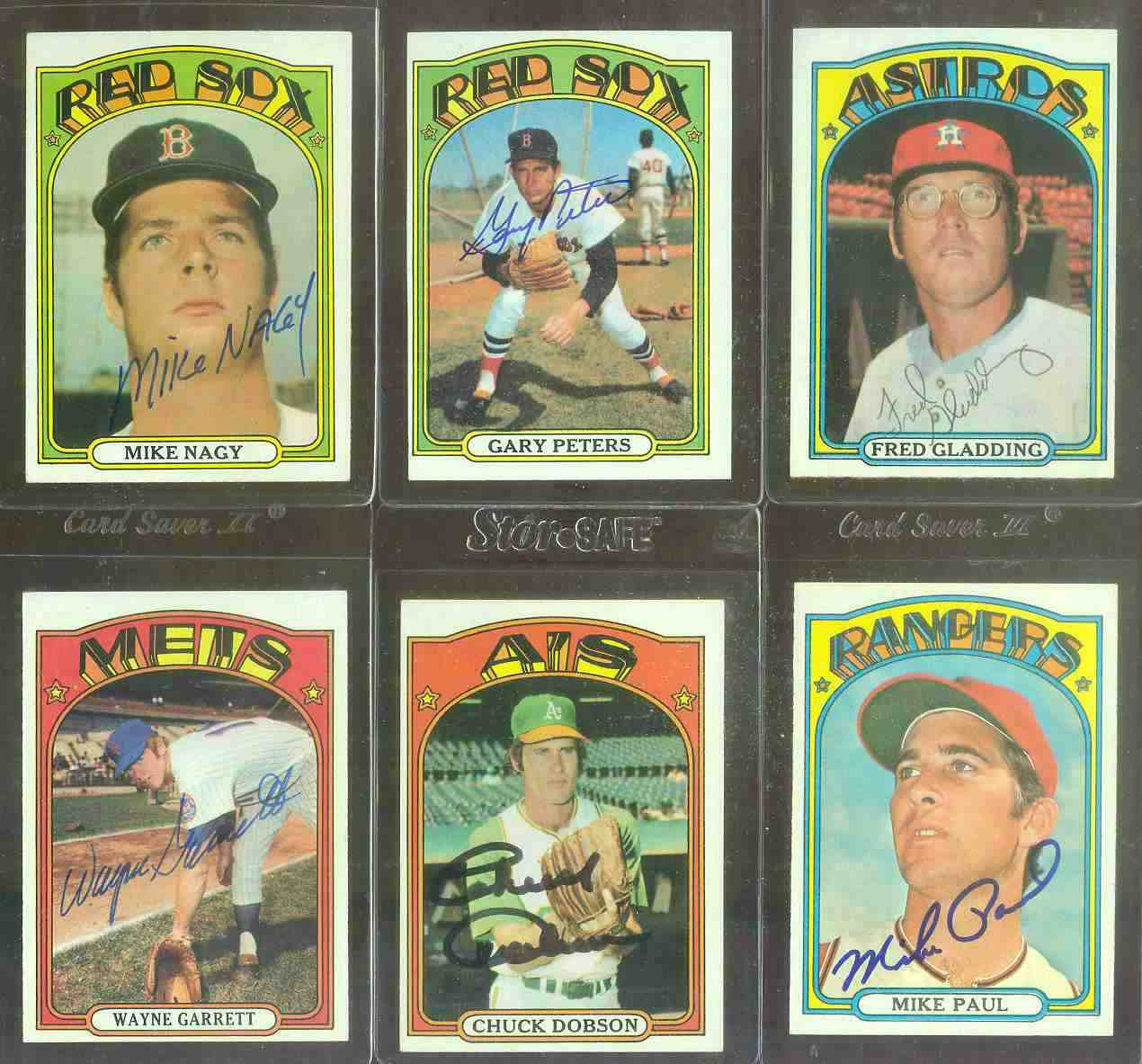 AUTOGRAPHED: 1972 Topps #488 Mike Nagy w/PSA/DNA Auction LOA (Red Sox) Baseball cards value