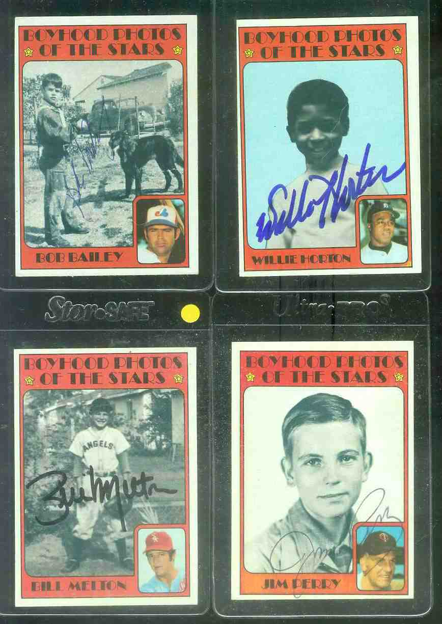 AUTOGRAPHED: 1972 Topps #497 Jim Perry 'Kid-Pix' w/PSA/DNA LOA (Twins) Baseball cards value