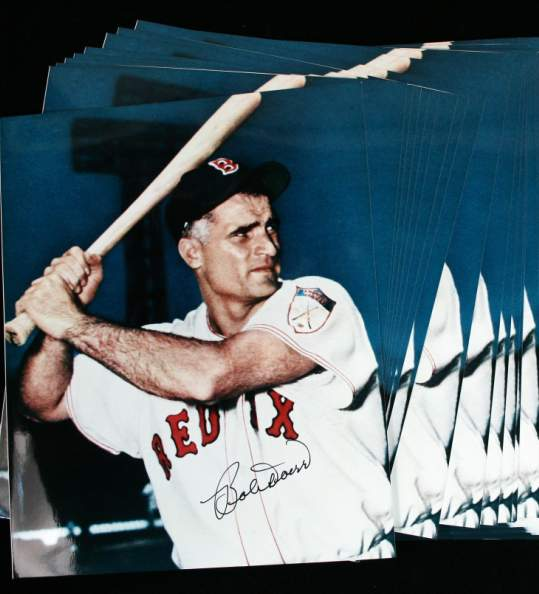 Bobby Doerr - Autographed 8x10 Color Photo (Red Sox) Baseball cards value