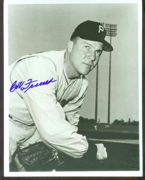 Bob Friend - Autographed B&W 8x10 (w/COA) (Pirates) Baseball cards value