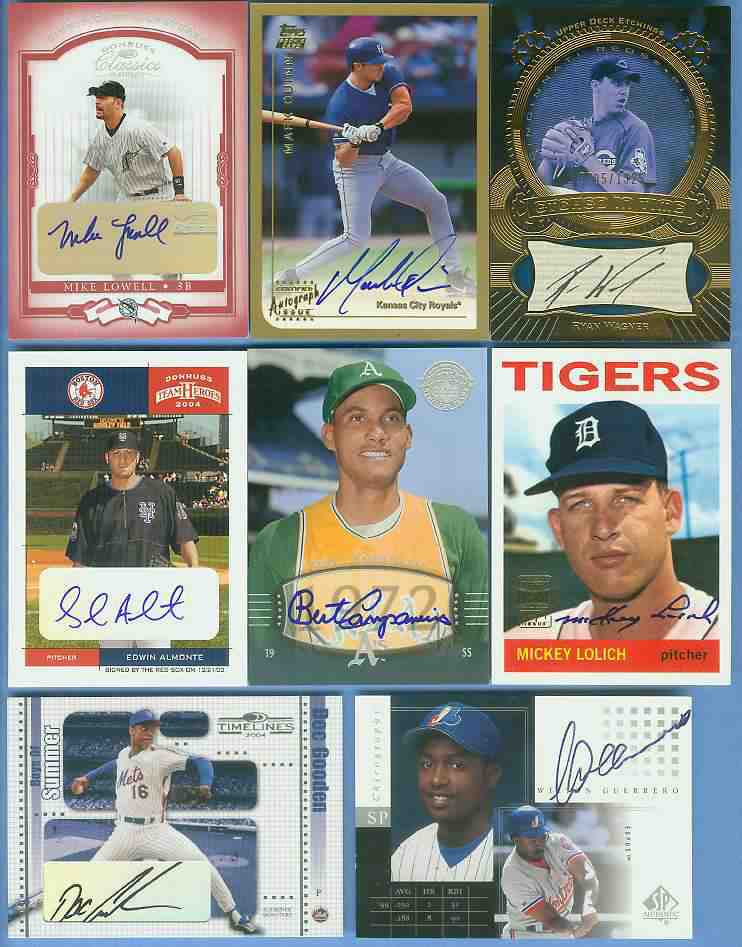 Wilton Guerrero - 2000 SP Authentic 'CHIROGRAPHY' AUTOGRAPH (Expos) Baseball cards value