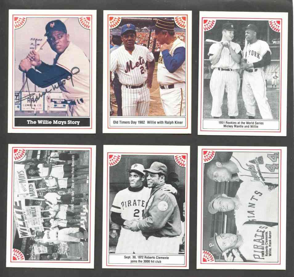 Willie Mays - 1984 R.G.I. AUTOGRAPHED set (100 cards) w/James Spence COA Baseball cards value