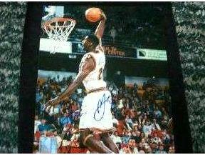 Antonio McDyess - Autographed 8x10 (Scoreboard) Basketball cards value