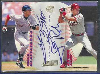 NOMAR GARCIAPARRA/Scott Rolen - 1998 Stadium 'Co-Signers' AUTOGRAPHS Baseball cards value