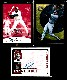 Tony Clark - Lot of (3) AUTOGRAPHED INSERT cards
