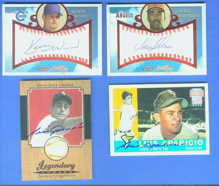 Garret Anderson - 2004 Fleer SWEET SIGS AUTOGRAPH (Angels) Baseball cards value