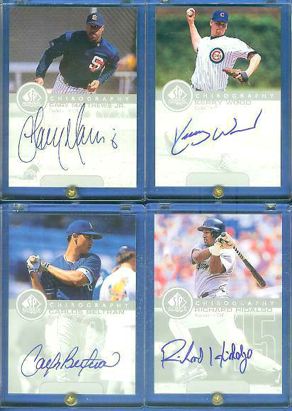 Gary Mathews Jr. - 1999 SP Authentic 'Chirography' AUTOGRAPH (Padres) Baseball cards value