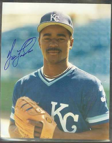 Tom 'Flash' Gordon - Autographed Color 8x10 (w/LOA) (Royals) Baseball cards value