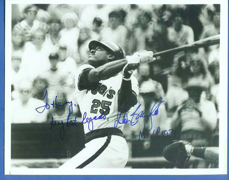 Don Baylor - Autographed 8x10 B&W Photo (Angels) Baseball cards value