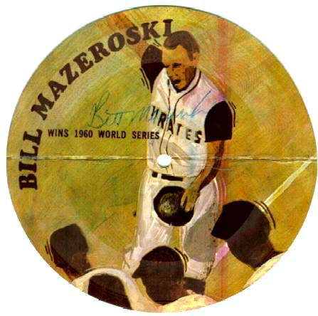 Bill Mazeroski - 1970's AUTOGRAPHED Great Moments..Baseball 33-1/3 Record Baseball cards value