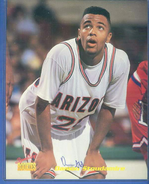 Damon Stoudamire - Signature ROOKIES Autographed 8x10 w/COA Basketball cards value