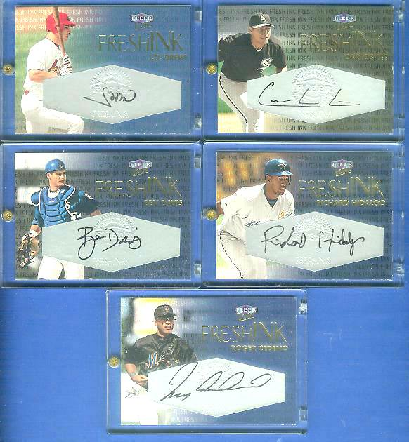 Roger Cedeno - 2000 Ultra 'FRESHINK' AUTOGRAPH (Mets) Baseball cards value