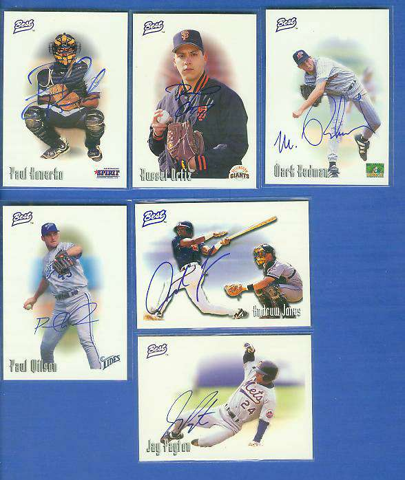 Mark Redman - 1996 Best AUTOGRAPH (Giants) Baseball cards value