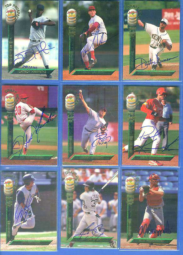 Dustin Hermanson - 1994 Signature Rookies DRAFT PICK #4 AUTOGRAPH (Padres) Baseball cards value