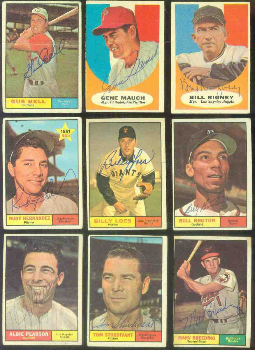 1961 Topps AUTOGRAPHED #237 Billy Loes w/PSA/DNA Auction LOA (Giants) Baseball cards value
