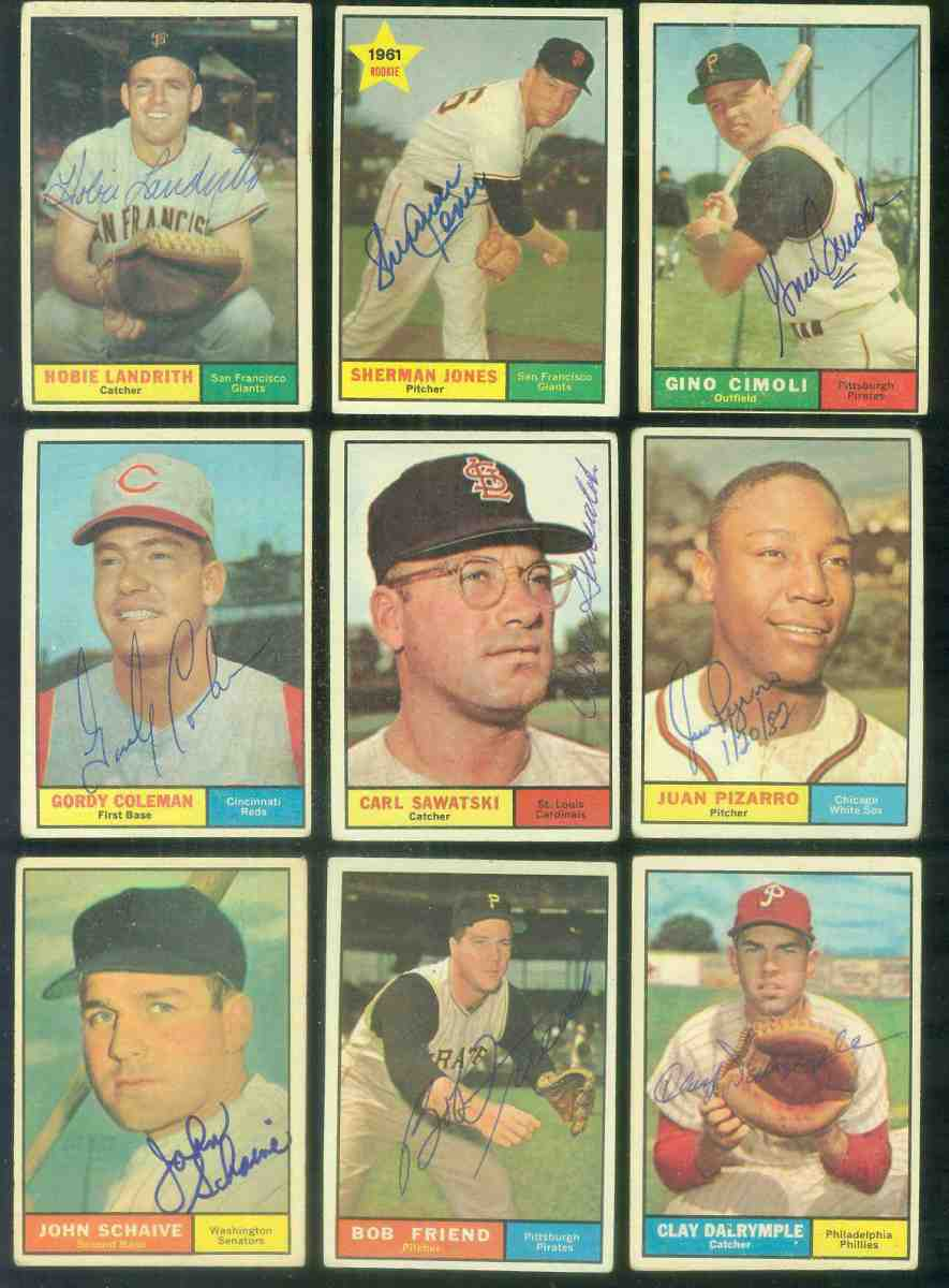 1961 Topps AUTOGRAPHED #227 Juan Pizarro w/PSA/DNA Auction LOA (White Sox) Baseball cards value