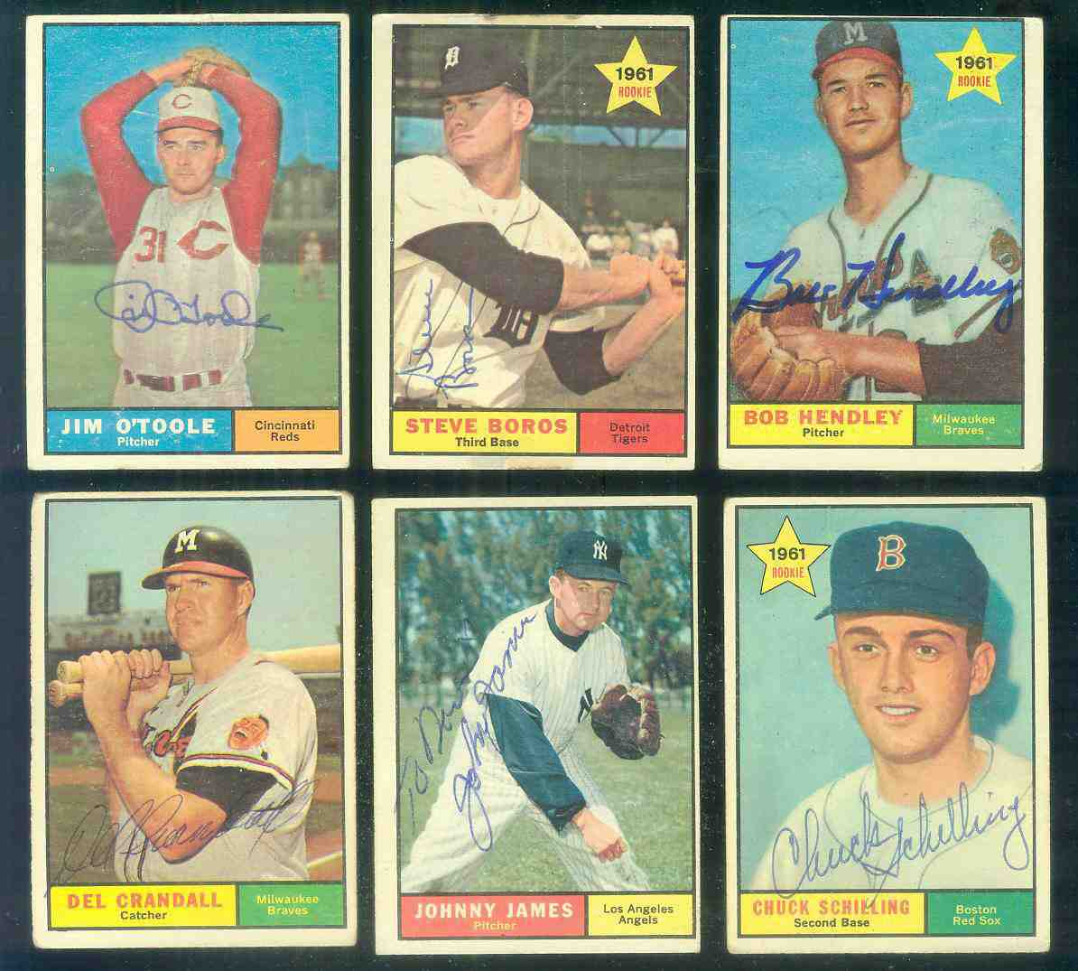 1961 Topps AUTOGRAPHED #348 Steve Boros w/PSA/DNA Auction LOA (Tigers) Baseball cards value