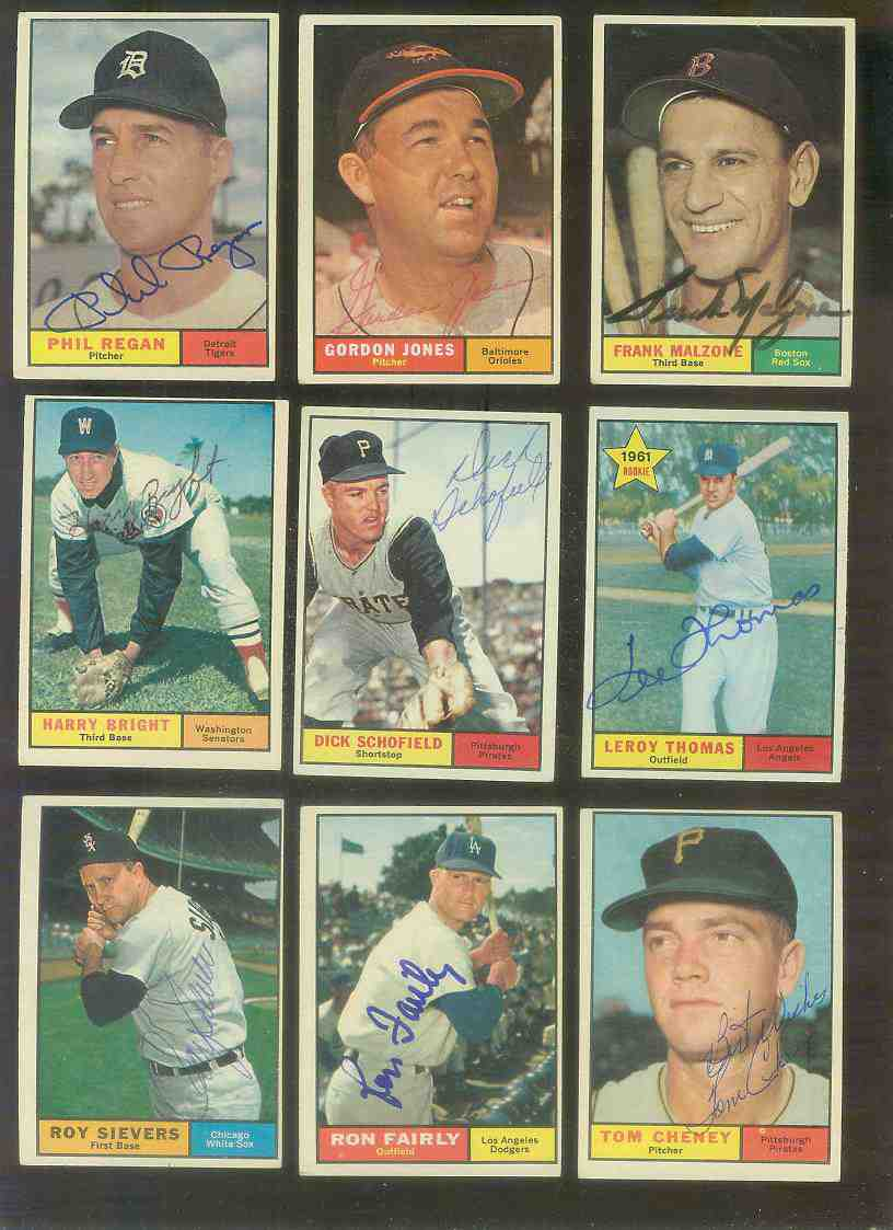 1961 Topps AUTOGRAPHED #453 Dick Schofield w/PSA/DNA Auction LOA (Pirates) Baseball cards value