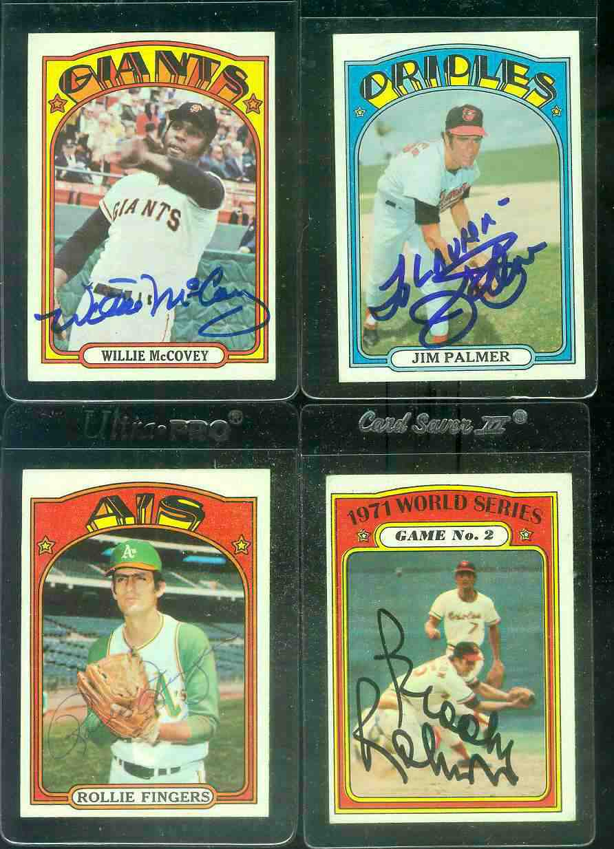 AUTOGRAPHED: 1972 Topps #270 Jim Palmer w/PSA/DNA Auction LOA (Orioles) Baseball cards value