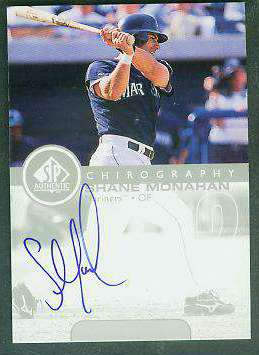 Shane Monahan - 1999 SP Authentic 'Chirography' AUTOGRAPH (Mariners) Baseball cards value
