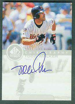 Todd Walker - 1999 SP Authentic 'Chirography' AUTOGRAPH (Twins) Baseball cards value