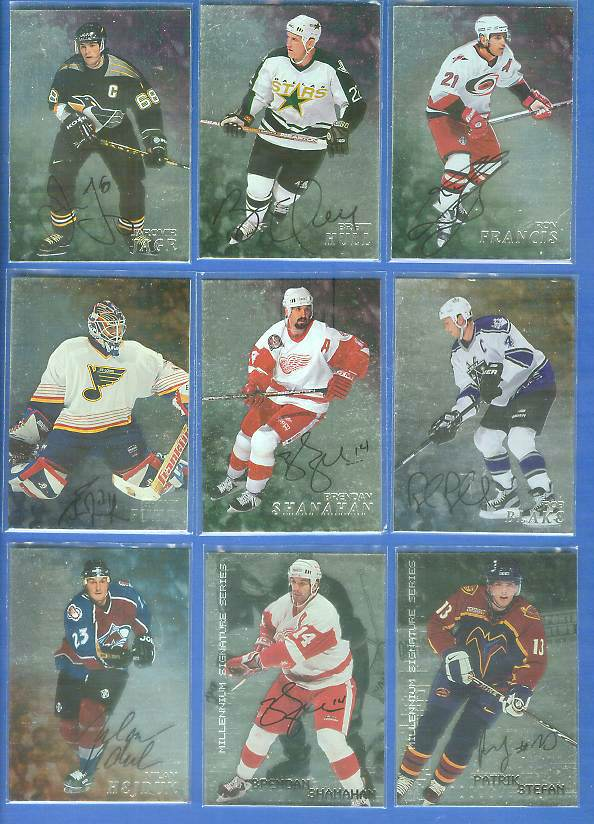 Rob Blake - 1998-99 Be A Player AUTOGRAPH #212 Hockey cards value