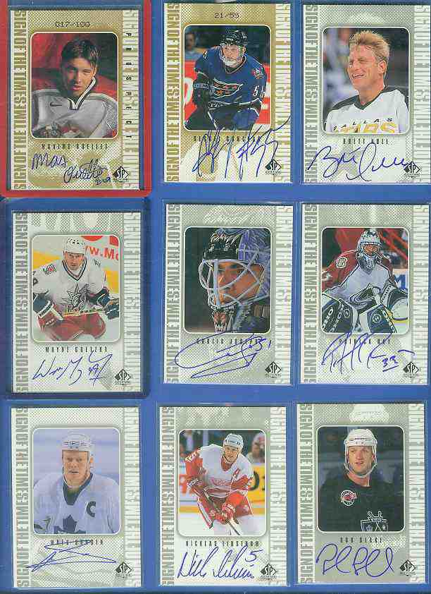 #AS Alex Selivanov - 1998-99 SP Authentic 'Sign of the Times' AUTOGRAPH Hockey cards value