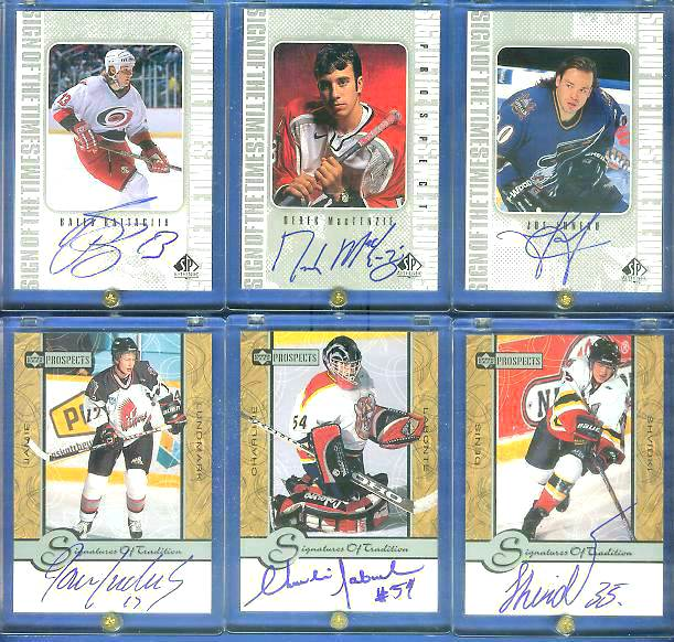 Jamie Lundmark - 1999-00 UD Prospects Signatures..Tradition #JL AUTOGRAPH Hockey cards value