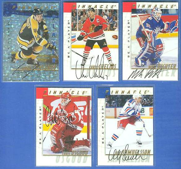 Ulf Samuelsson - 1997-98 Be A Player #126 AUTOGRAPH Hockey cards value
