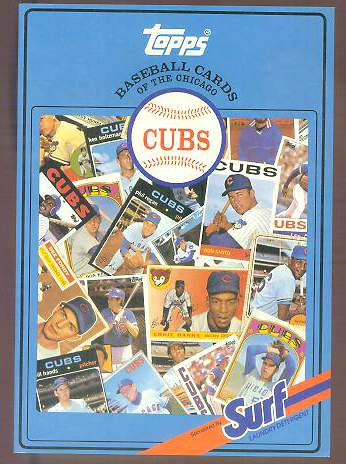 Cubs - 1987 Topps/Surf Book with (30) AUTOGRAPHS, James Spence LOA !!! Baseball cards value