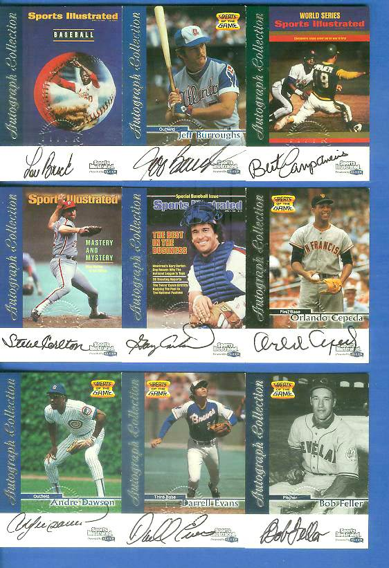 1999 SI Greats of the Game AUTOGRAPHS #20 Darrell Evans Baseball cards value