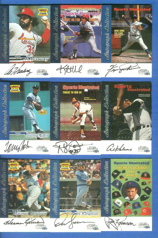 1999 SI Greats of the Game AUTOGRAPHS #40 Dave Kingman Baseball cards value
